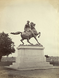 The Outram Statue, Calcutta